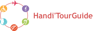 Logo Handi'Tour Guide - Voyages et handicap - Handi'Tour Guide