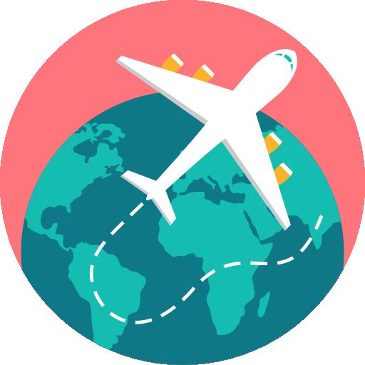 Logo accompagnatrice séjour ou circuit adaptés tout inclus