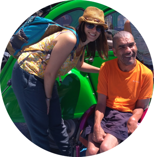 Photo témoignage Taha voyage handicap - Handi'TourGuide