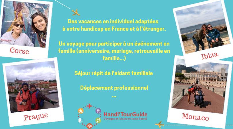 Photo voyage handicap - séjour répit familiale - Handi'TourGuide